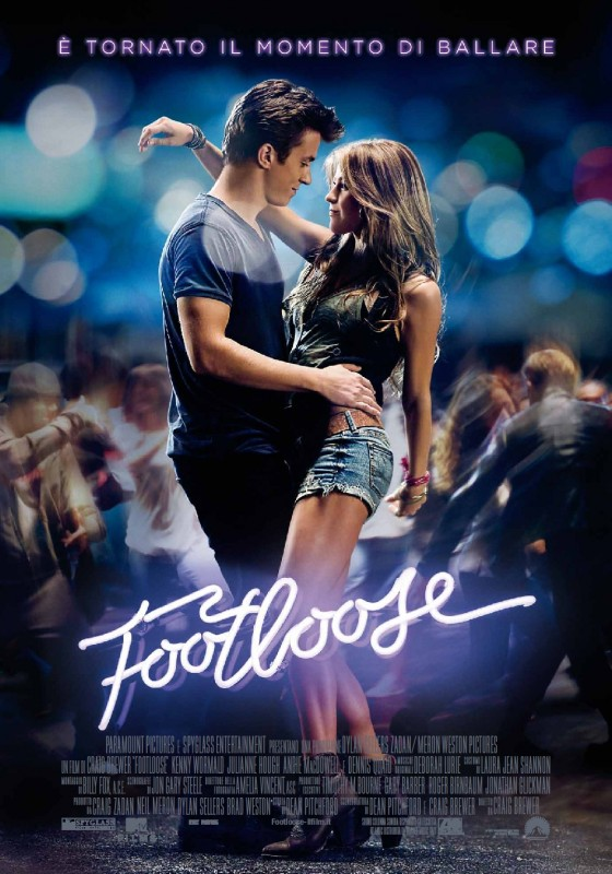 Footloose: la locandina italiana del film
