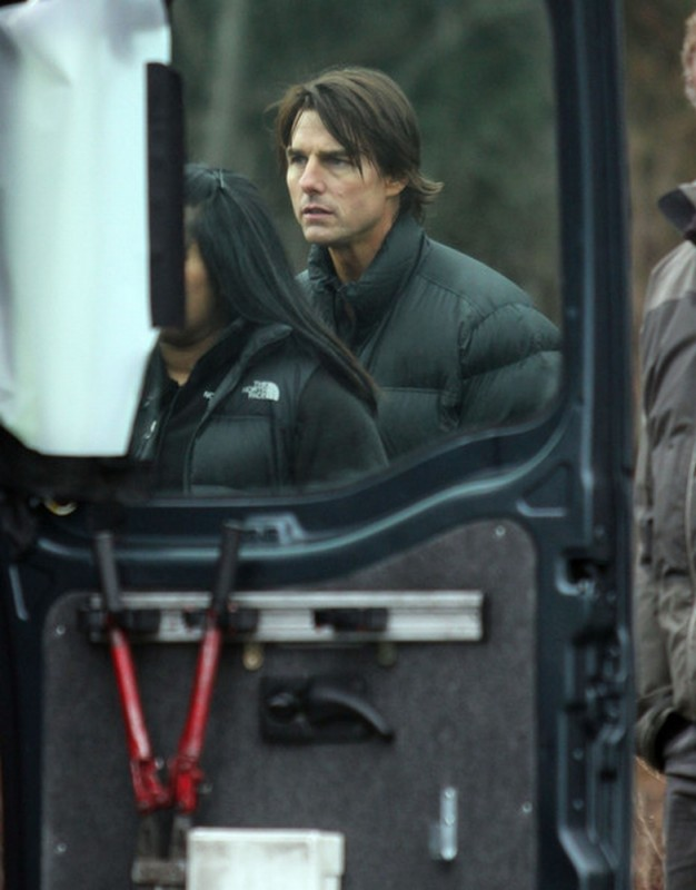 Mission: Impossible - Protocollo Fantasma, Tom Cruise sul set del film