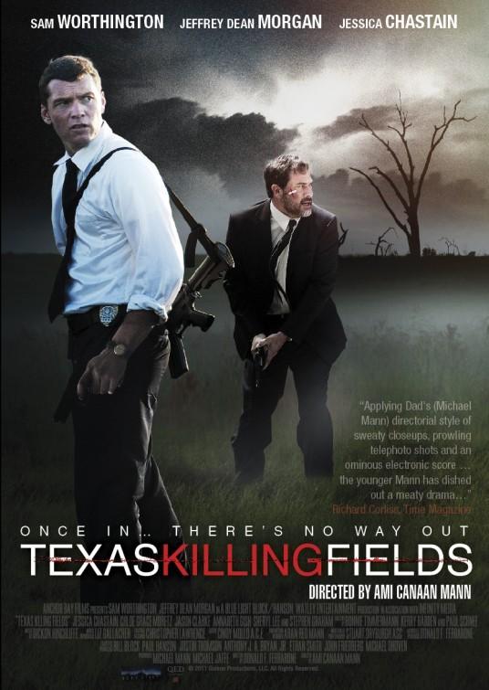 Texas Killing Fields: nuovo poster USA