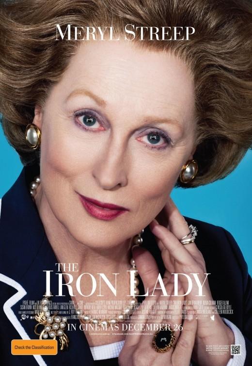 The Iron Lady: poster australiano
