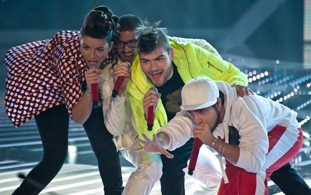 X-Factor 5: I Moderni cantano Overdose d'amore nella prima puntata