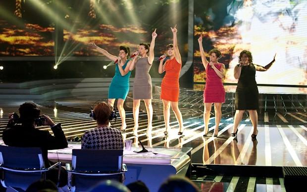 X-Factor 5: Le 5 cantano Birdland nella prima puntata