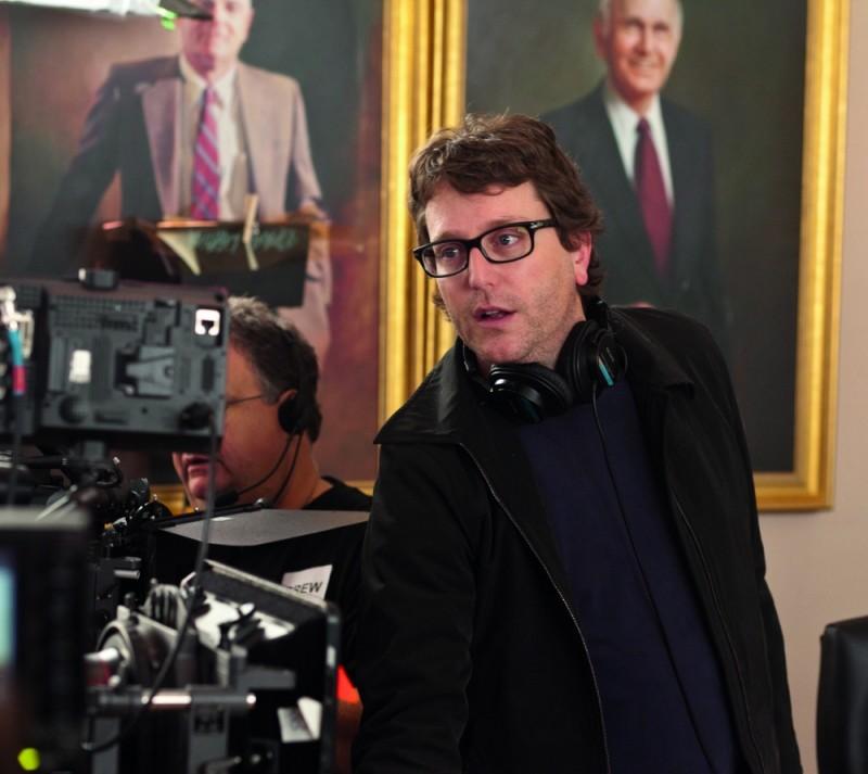 Il regista David Dobkin sul set di Cambio Vita