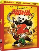 La copertina di Kung Fu Panda 2 (blu-ray)