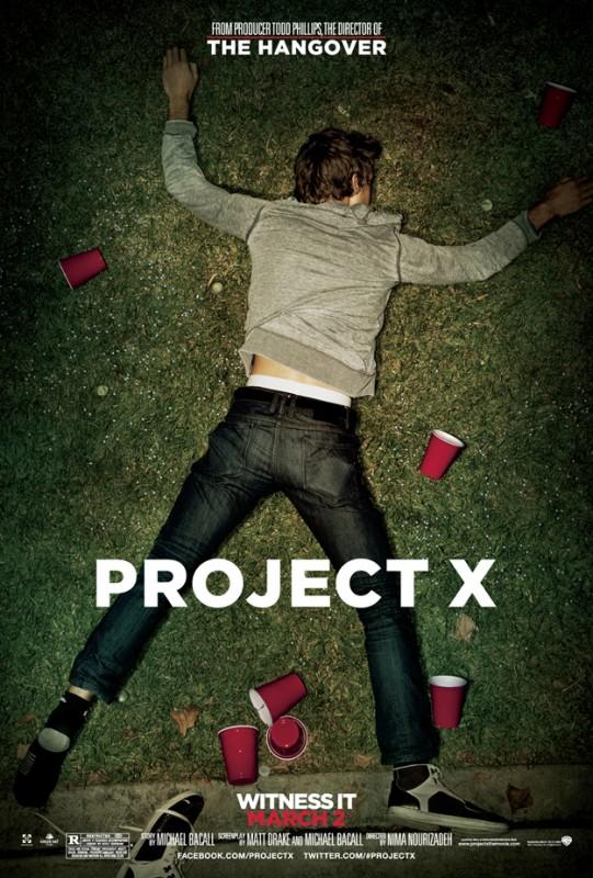 Project X: la locandina del film