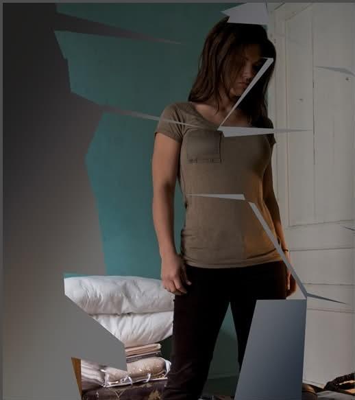 Gina Carano in un'immagine promozionale di Knockout - Resa dei conti