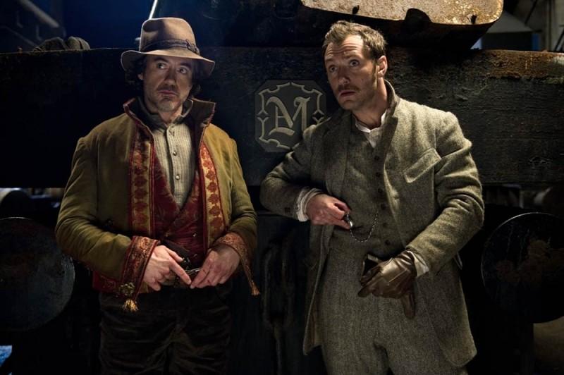 Sherlock Holmes: Gioco di ombre, Jude Law e Robert Downey Jr. ancora nei panni di Sherlock Holmes e Watson