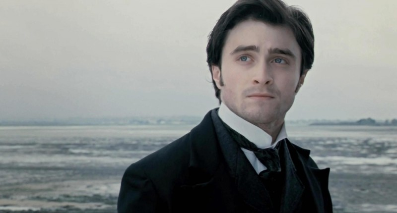 Una bella immagine di Daniel Radcliffe tratta dal film The Woman in Black