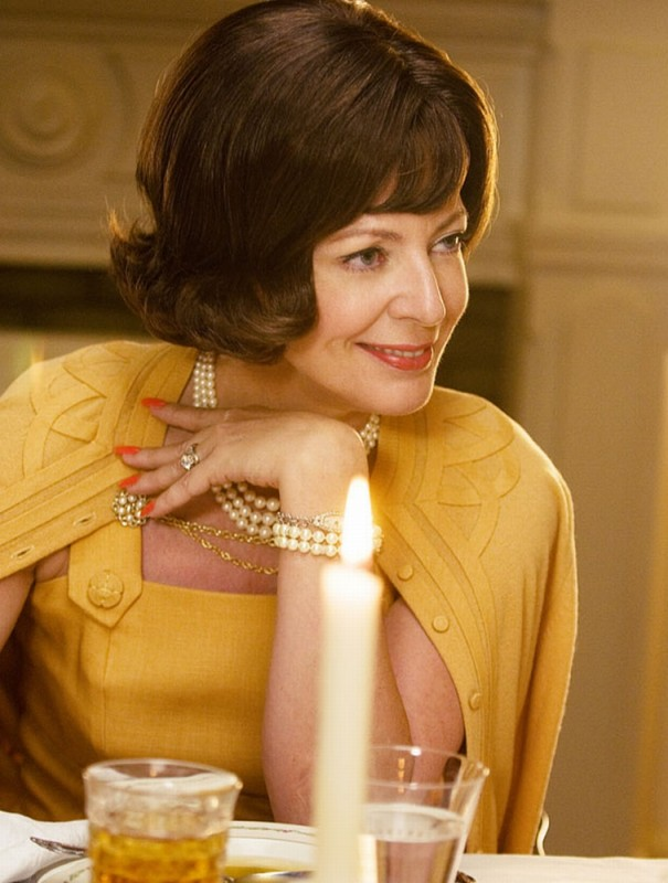 Allison Janney in una scena del film The Help