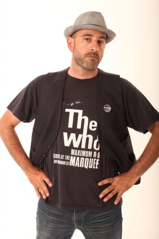 Carlo Virzì in una foto promozionale del film I più grandi di tutti