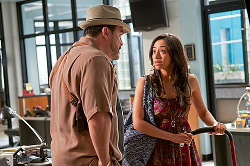 David Zayas e Aimee Garcia in una scena dell'episodio Sins of Omission
