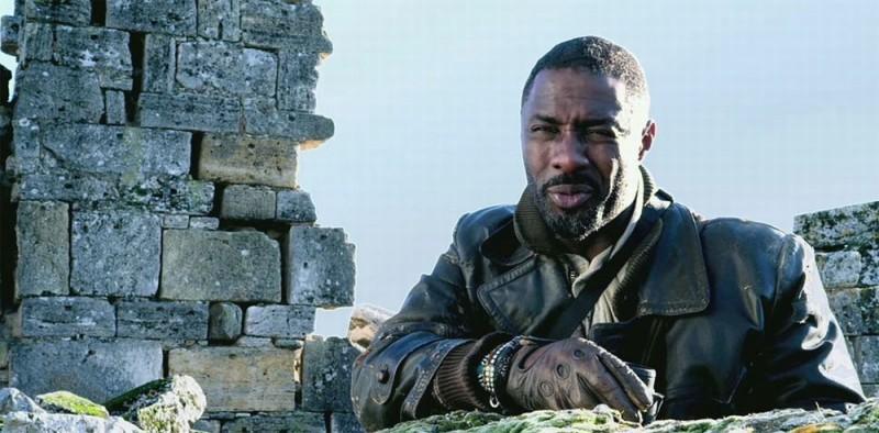 Ghost Rider: Spirit of Vengeance, Idris Elba in una scena del film