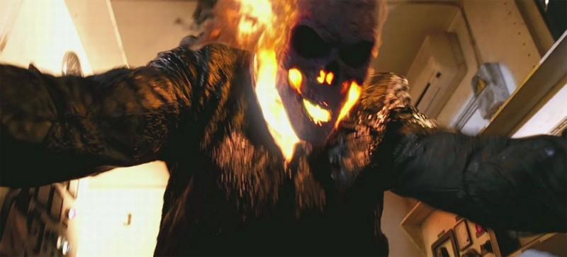 Ghost Rider: Spirit of Vengeance, il fantasma motociclista in un frammento del film