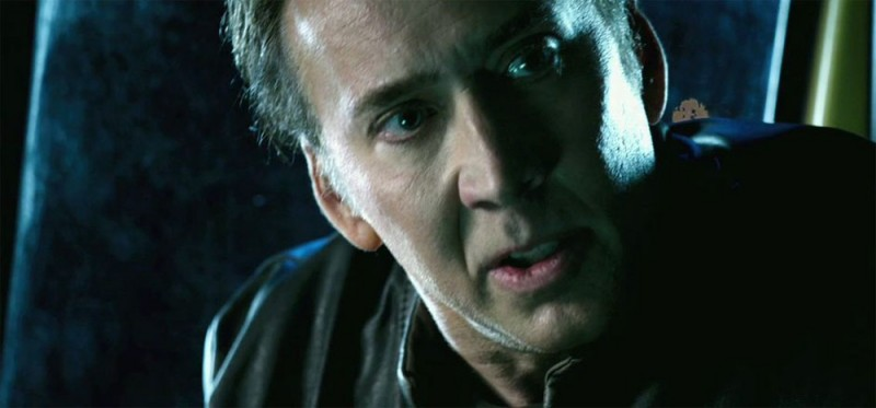 Ghost Rider: Spirit of Vengeance, Nicolas Cage in una scena del film