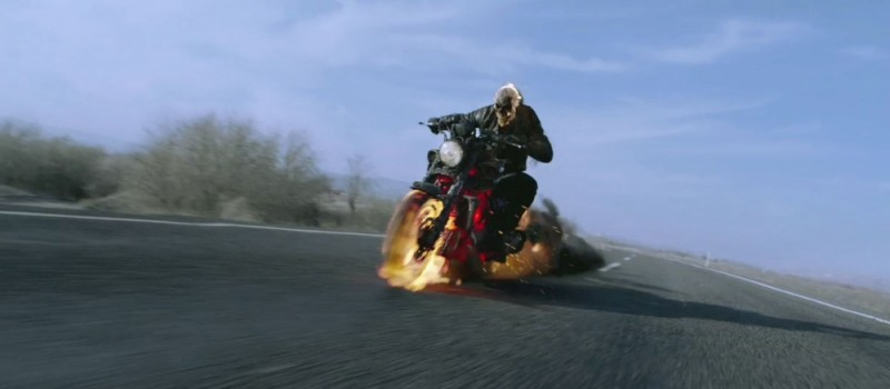 Ghost Rider: Spirit of Vengeance, un'immagine tratta dal film