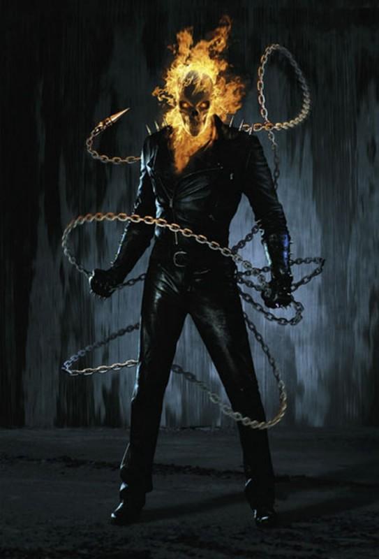 Ghost Rider: Spirit of Vengeance, una foto promozionale del film