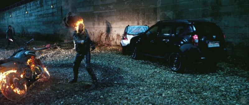 Ghost Rider: Spirit of Vengeance, una scena d'azione del film