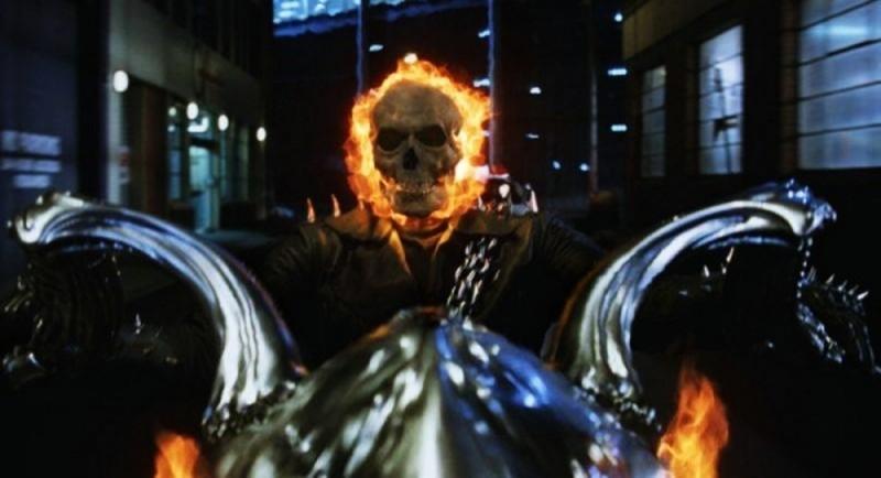 Ghost Rider: Spirit of Vengeance, una scena del film