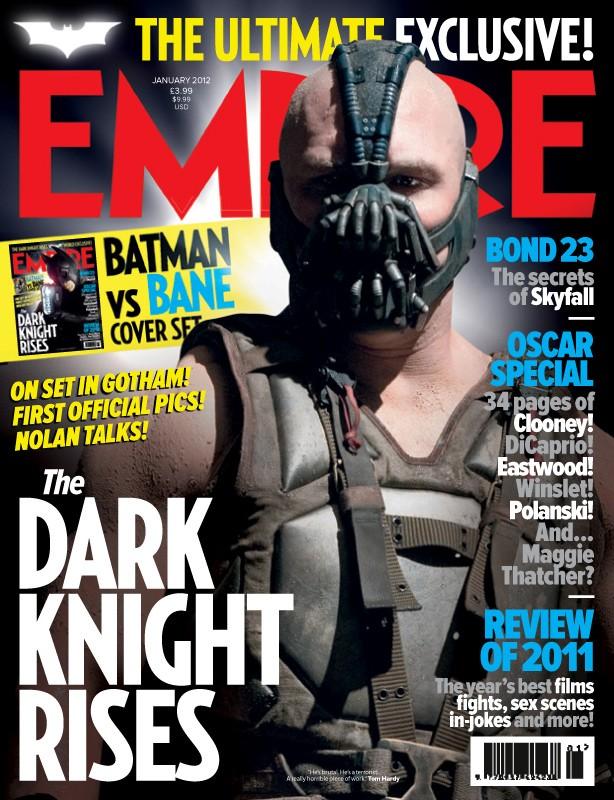 Il cavaliere oscuro - Il ritorno: ecco la locandina di Empire dedicata al feroce Bane (Tom Hardy)