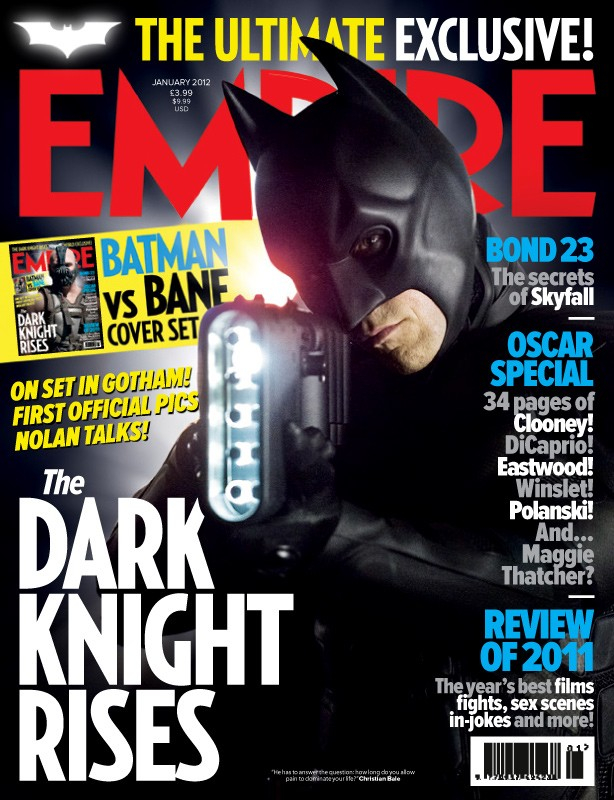 Il cavaliere oscuro - Il ritorno: ecco la locandina di Empire dedicata all'uomo pipistrello