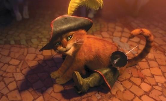 Il gatto con gli stivali dolce felino protagonista del