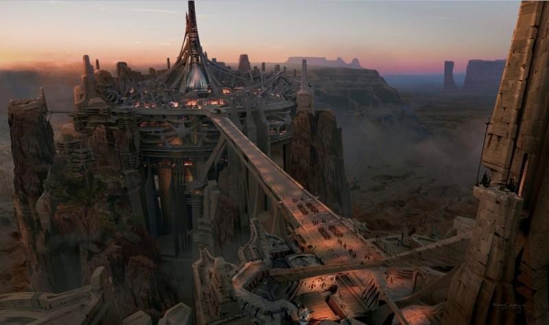 John Carter: uno dei concept art del film
