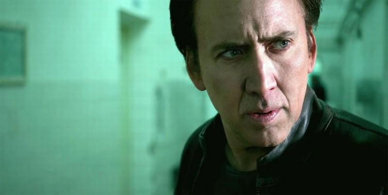 Nicolas Cage in una scena del film Ghost Rider: Spirit of Vengeance