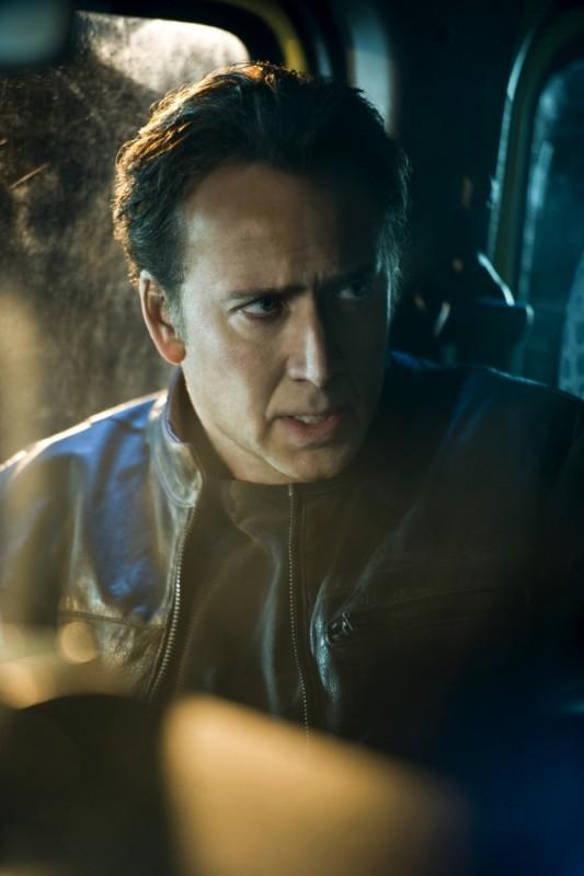 Nicolas Cage in una scena di Ghost Rider: Spirit of Vengeance