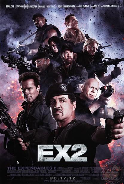 The Expendables 2: ecco la prima locandina
