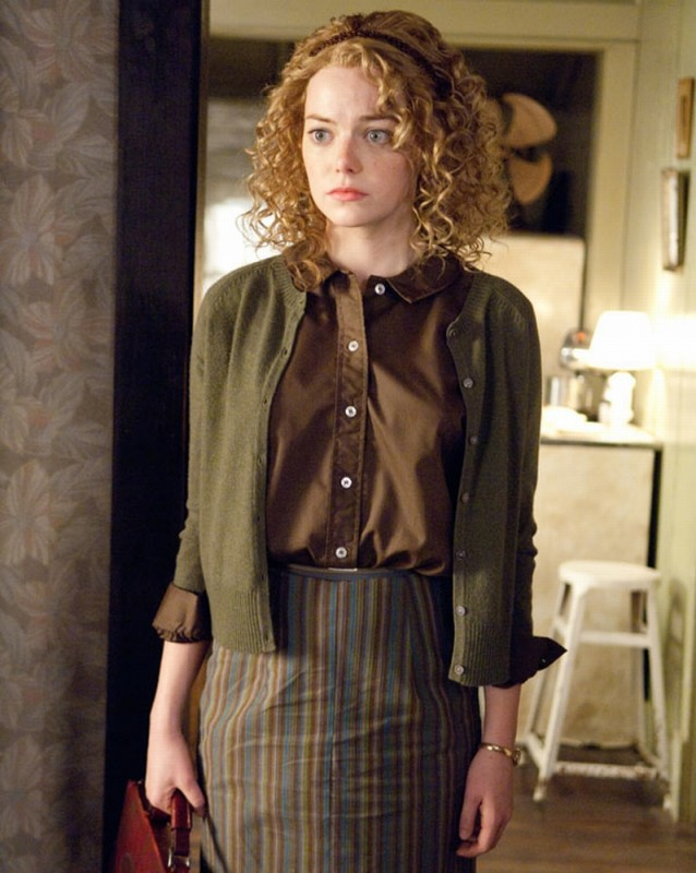 The Help: Emma Stone in un'immagine tratta dal film