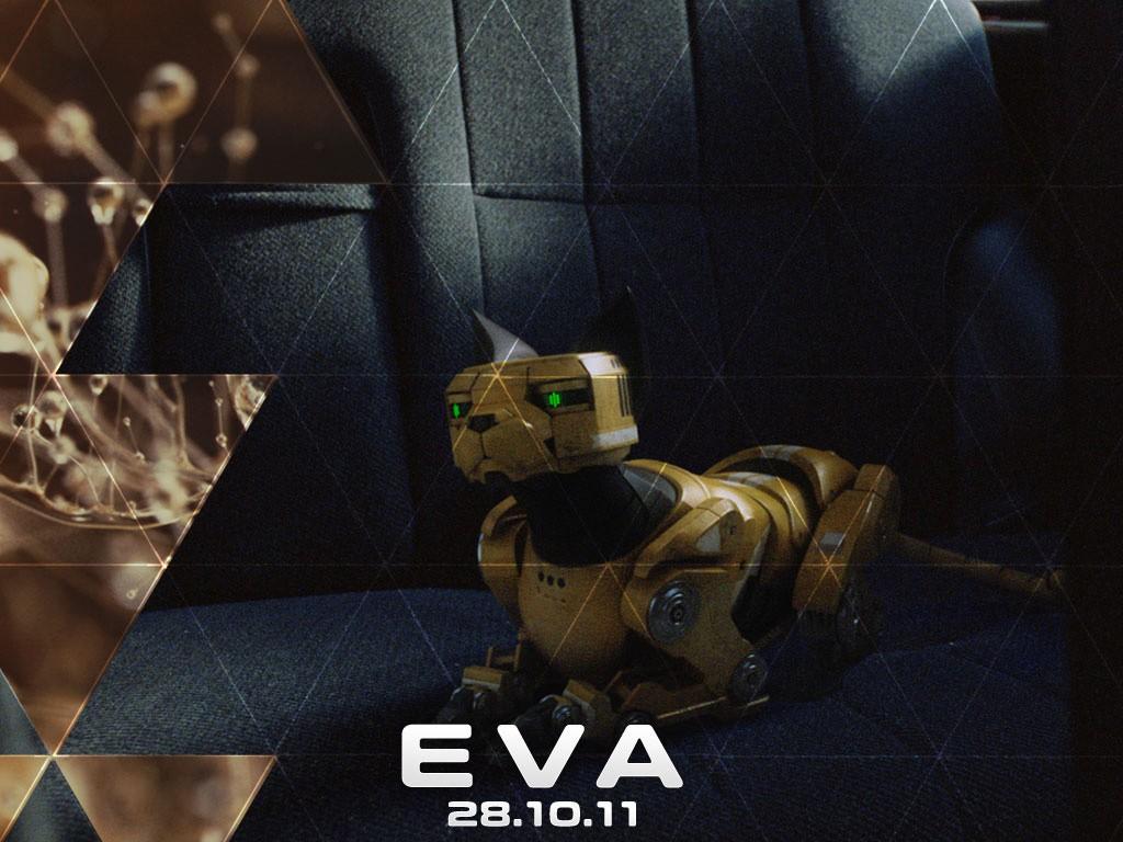 Un wallpaper del film Eva