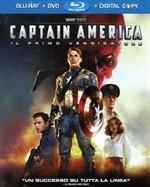 La copertina di Captain America: il primo vendicatore (blu-ray)