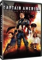 La copertina di Captain America: il primo vendicatore (dvd)