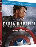 La copertina di Captain America: il primo vendicatore - Limited 3D edition (blu-ray)