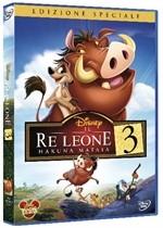La copertina di Il re leone 3: Hakuna Matata (dvd)