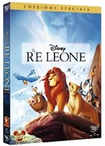 La copertina di Il re leone - edizione speciale (dvd)