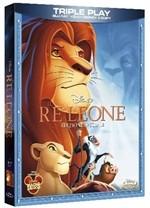 La copertina di Il re leone - Edizione Triple Play (blu-ray)