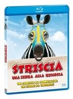 La copertina di Striscia, una zebra alla riscossa (blu-ray)
