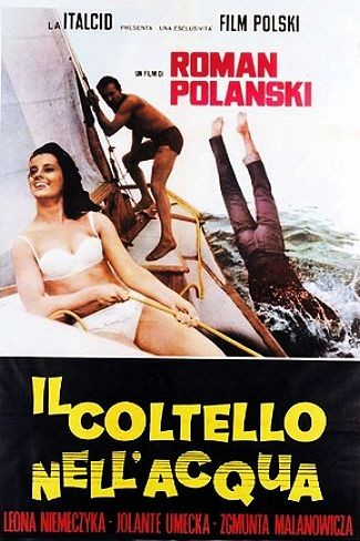 Locandina italiana de Il coltello nell'acqua