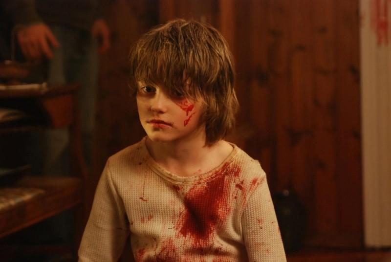 Spencer List in una scena dell'horror Bereavement