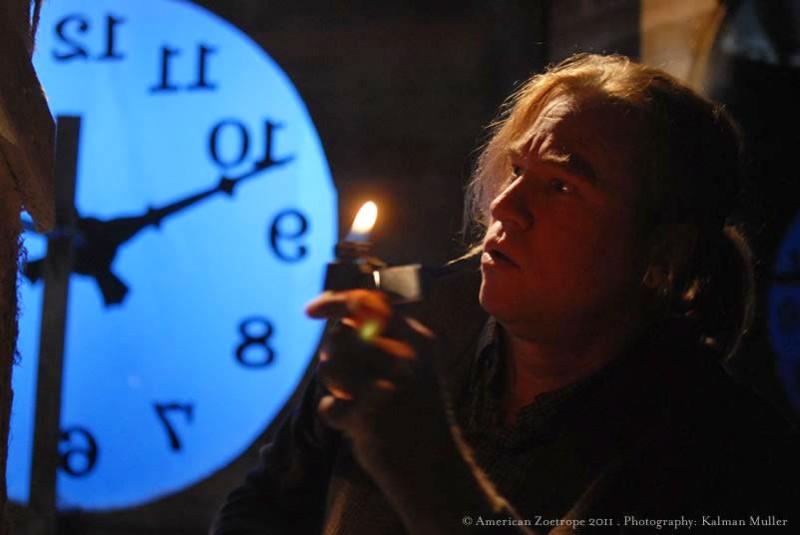 Val Kilmer protagonista di Twixt in una scena del film