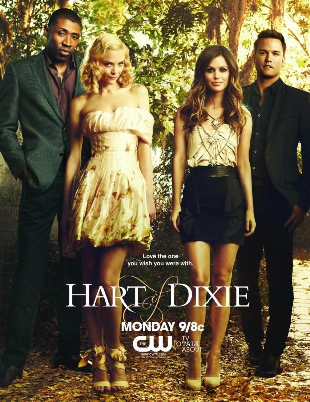 Hart of Dixie: un poster della serie TV