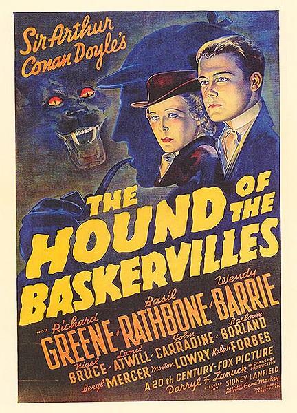 Il mastino dei Baskerville (1939) locandina