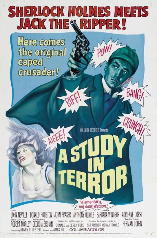 Sherlock Holmes: notti di terrore - la locandina