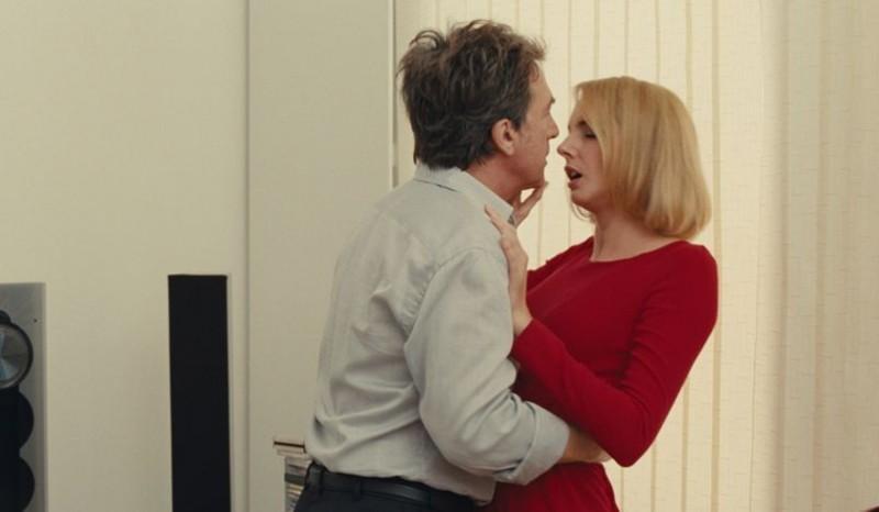 The Art of Love: François Cluzet e Frédérique Bel in una scena