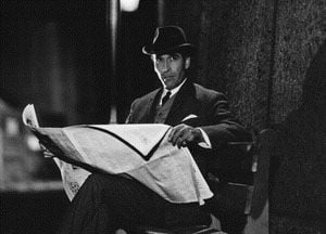 Christopher Lee in Sherlock Holmes e la valle del terrore