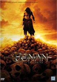 La copertina di Conan the Barbarian in 3D (dvd)