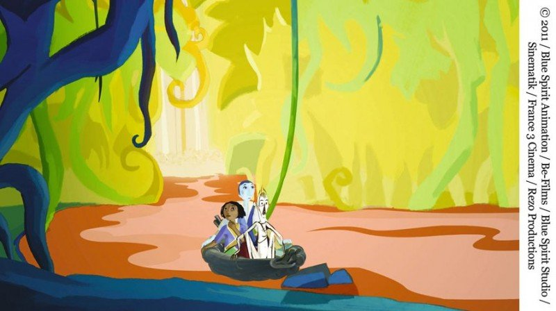 Le tableau: una sequenza del cartoon francese