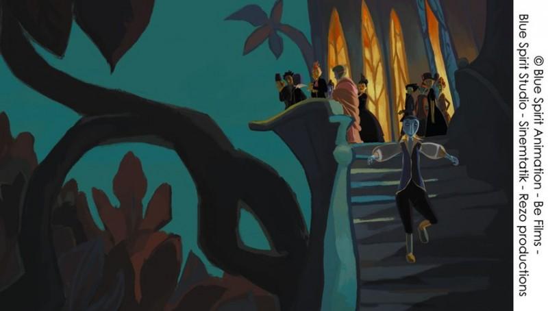 Le tableau: una sequenza del film d'animazione del 2011