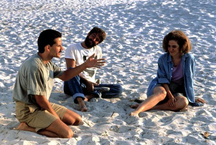 Che mi dici di Willy? - Campbell Scott, Stephen Caffrey e Mary-Louise Parker in una scena